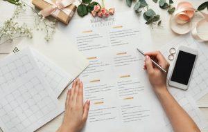 chek list mariage ultime préparation WeBloom
